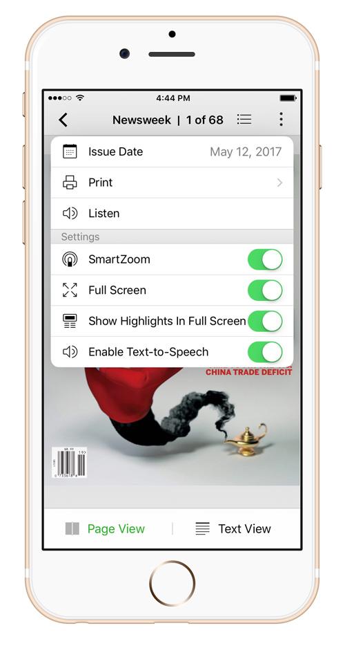 Enabling Text-to-Speech – PressReader Care